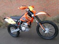 KTM 250 EXCF 2007 ENDURO ROAD REGISTERED ELECTRIC START MX MOTOCROSS BIKE
