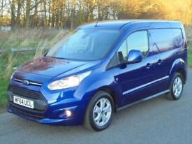 FORD TRANSIT CONNECT LIMITED, 2014(14) DEEP IMPACT BLUE, 3 Seater, FINANCE?