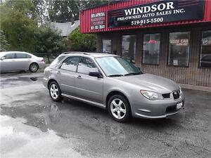 2006 Subaru Impreza 2.5i AWD SYMMETRICAL - WINTER RIMS & TIRES