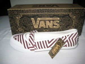 BRAND NEW WITH TAGS LADIES VANS SLIP ON SHOES - SIZE 8.5