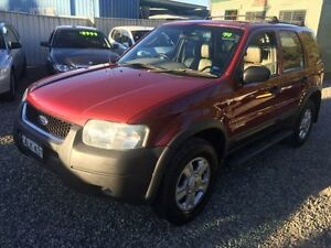 2002 Ford Escape BA Limited Red 4 Speed Automatic Wagon Jewells Lake Macquarie Area Preview