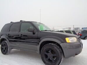 2004 FORD ESCAPE XLT DURATEC-4WD-DRIVE EXCELLENT-ONLY 167,000KM