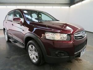 2012 Holden Captiva CG MY12 7 SX (FWD) Burgundy 6 Speed Automatic Wagon Albion Brimbank Area Preview