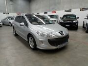 2010 Peugeot 308 T7 Sportium Touring Silver 6 Speed Sports Automatic Wagon Wangara Wanneroo Area Preview