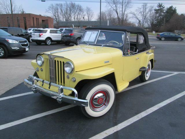 Jeep : Other Willys Overl 1948 YELLOW JEEP WILLYS OVERLAND
