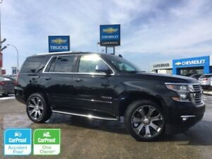 2017 Chevrolet Tahoe Premier 4WD (Heated Leather/Steering, Nav)