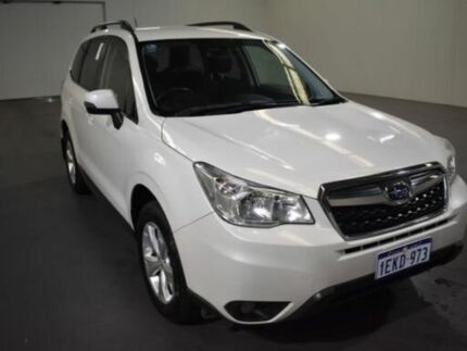 2014 Subaru Forester MY13 2.5I-L 37j - Satin White Pearl (t) Continuous Variable Wagon