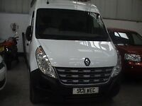 2011 RENAULT MASTER LM35DCi. LWB ,HIGH ROOF. FULL ROOF RACK, LIGHT USE