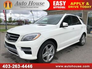 2014 MERCEDES ML350 BLUETEC DIESEL AMG PACKAGE NAVI CAMERA