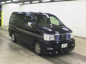 2002 Nissan Elgrand E50 Rider 4WD Black 4 Speed Automatic Wagon Taren Point Sutherland Area Preview