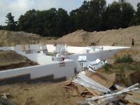 Insulated Concrete Forming  and I.C.F. Building Solutions