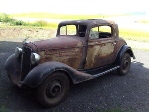 1933 to 1938 Coupe Project Car