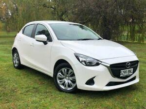 2016 Mazda 2 DJ2HAA Neo SKYACTIV-Drive White 6 Speed Sports Automatic Hatchback Bridgewater Adelaide Hills Preview