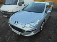 Peugeot 407 SE 2.0. FULL SERVICE HISTORY (silver) 2006