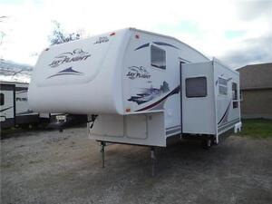 2007 Jayco Jay Flight 27.5BHS Ultra Lite 5th Wheel with Bunkbeds Stratford Kitchener Area image 2