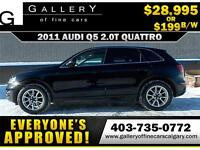 2011 Audi Q5 2.0T Premium AWD $199 bi-weekly APPLY NOW DRIVE NOW