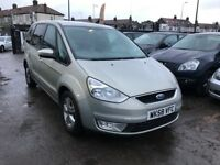 2009 Ford Galaxy 2.0 TDCi Zetec 5dr (6 speed), AUTOMATIC, LOW MILEAGE, 1 OWNER, 2 KEYS.