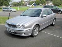 2001 (Y) Jaguar X-Type V6 Auto, 2496cc Petrol, Automatic