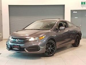 2015 Honda Civic Coupe EX-AUTO-SUNROOF-CAMERA-18 INCH MAZINI RIM