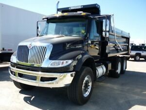 2017 International 7400 6x4, New Gravel Truck