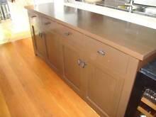 Solid Hardwood 4 Door & 4 Drawer Buffet Kings Langley Blacktown Area Preview