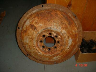 Original Ford 8n-naa-600 Tractor 28-inch Rear Wheel Center Disc Jubilee-600 Ford