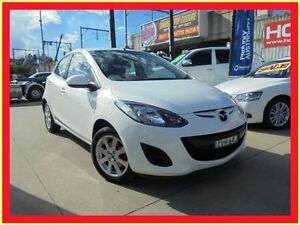 2014 Mazda 2 DE10Y2 MY14 Neo Sport White 4 Speed Automatic Hatchback Holroyd Parramatta Area Preview