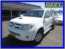 2007 Toyota Hilux KUN26R 07 Upgrade SR5 (4x4) White 5 Speed Manual Extracab Penrith Penrith Area Preview