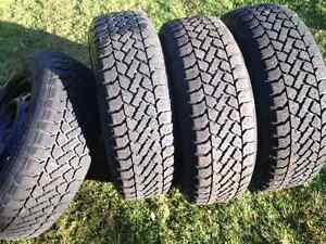 Winter tires 205x70x15 studded