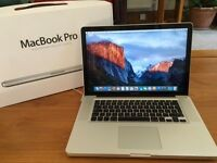 "Apple Macbook Pro A1286, 15.4"", 2011, Intel Core i7, 2.0GHz, 8GB, 500GB HD"