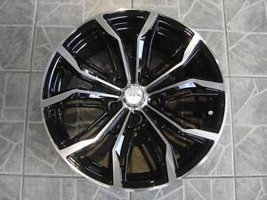 """Kit roues de mag avec pneus neufs 17"""" #M28"""
