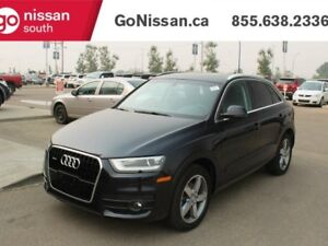 2015 Audi Q3 Progressiv, AWD, LEATHER, HEATED SEATS, BACKUP CAM