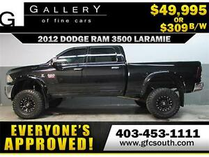 2012 DODGE RAM DIESEL LIFTED *EVERYONE APPROVED* $0 DOWN $309/BW