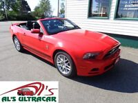 2014 Ford Mustang V6 Conv for $219 bi-weekly all in!(NEW PRICE!)