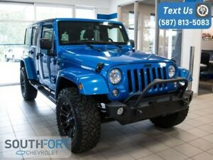 2016 Jeep Wrangler Unlimited Sahara |Leather|Soft Top included
