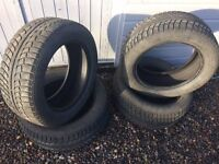 4 Gislaved Nordfrost 5 Winter Tyres 235/55/17