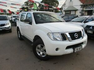 2012 Nissan Pathfinder R51 MY10 ST White 5 Speed Sports Automatic Wagon Gepps Cross Port Adelaide Area Preview