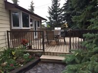 HUGE mature lot with 3 Bedroom home.