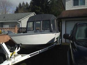 20 ft Outlaw aluminum jet boat