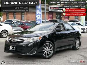 2012 Toyota Camry LE ACCIDENT FREE! ONE OWNER! NAVI!