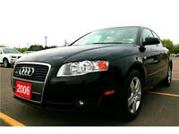 Winter sale--2006 Audi A4, Black, 4WD, Leather, Everything Power