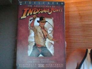 Indiana Jones - The Complete Collection in Widescreen on DVD Zillmere Brisbane North East Preview