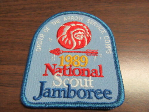 1989 National Jamboree OA Service Corps Pocket Patch,   TH2