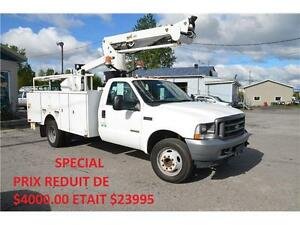 2003 Ford F-550 Nacelle 38 pieds