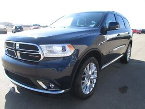 2016 DODGE DURANGO LIMITED AWD!! Full load with leather heated