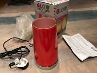 Brand New Touch Lamp - Colour Red/Pink - Cost £15 new