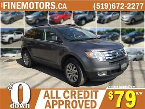 2010 FORD EDGE LIMITED * AWD * HEATED SEATING * LEATHER