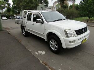 2003 Holden Rodeo TFR9 MY02 LT 4 Speed Automatic Dual Cab Utility Leichhardt Leichhardt Area Preview