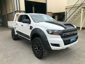 2015 Ford Ranger PX MkII XL White Sports Automatic Cab Chassis Greystanes Parramatta Area Preview