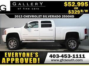 2013 CHEVY SILVERADO LIFTED *EVERYONE APPROVED* $0 DOWN $329/BW!